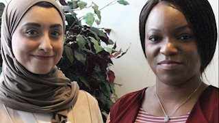 International nursing students share experiences with WVU nursing faculty.