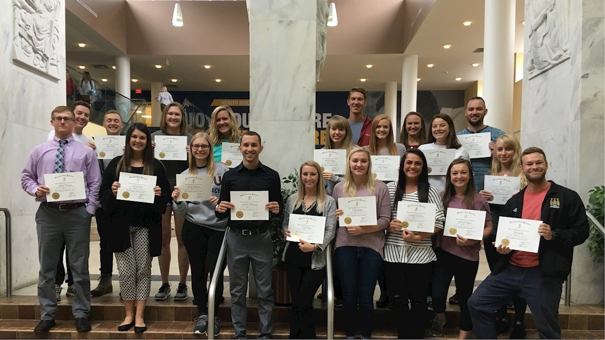 Kappa Psi members receive international recognition for their academic  achievments 5d9685f0c17f7