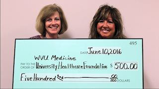 Kitzie's supports WVU Medicine University Healthcare Cancer Comfort Fund
