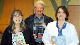 Literacy Volunteers of Harrison County donate books to UHC Pediatrics for Read Across America Day