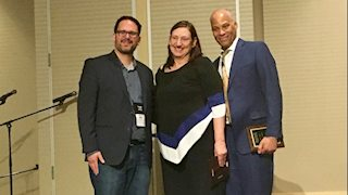 MaryBeth Mandich receives music therapy advocacy award