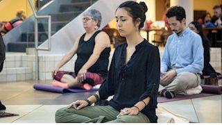 Meditation at the Pylons on Apr. 18