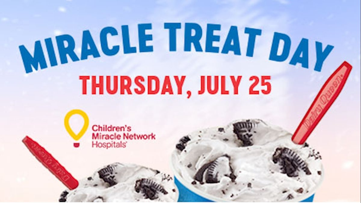 Miracle Treat Day to benefit WVU Medicine Children's