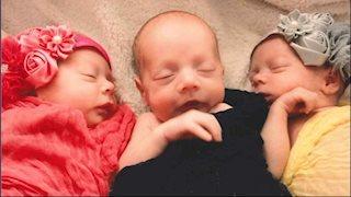 Mountaineer triplets: WVU Medicine NICU physician lives the NICU parent journey