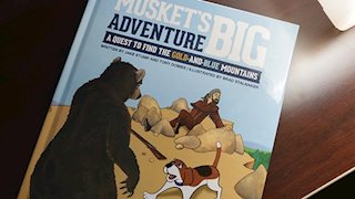 Musket's Big Adventure book sales benefit WVU Medicine Children's