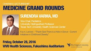 Nationally recognized pediatrician to present at Medicine Grand Rounds