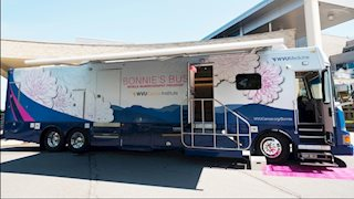 New Bonnie's Bus to offer mammograms in Aurora, Mill Creek, Belington, Sutton, Glenville, and Jane Lew