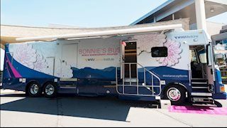 New Bonnie's Bus to offer mammograms in Caretta and Logan