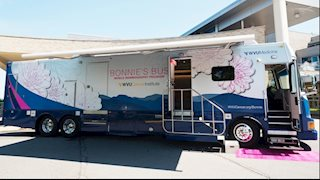 New Bonnie's Bus to offer mammograms in Union, Peterstown, Dawes, Marlinton, Green Bank, Rupert, and Buckeye