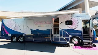 New Bonnie's Bus to offer mammograms in Whitesville, Charleston, Clendenin, and Clay