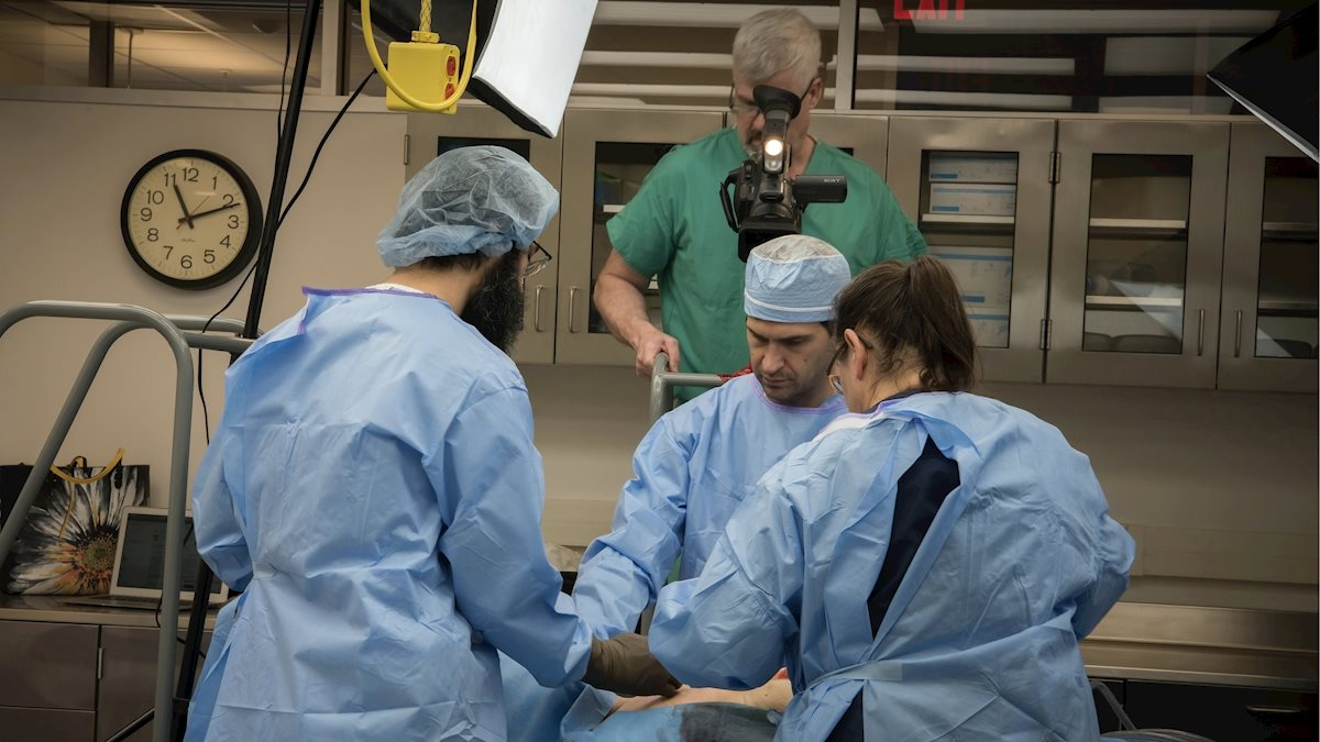 New training model mimics real-world surgery for WVU residents