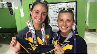 Nursing students providing care at World Scout Jamboree