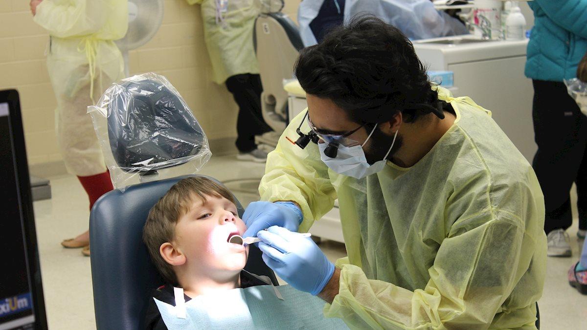 Pediatric dentistry brightens 92 smiles