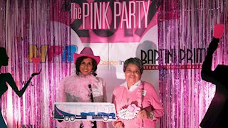 Pink Party marks fourth successful year for Bonnie's Bus