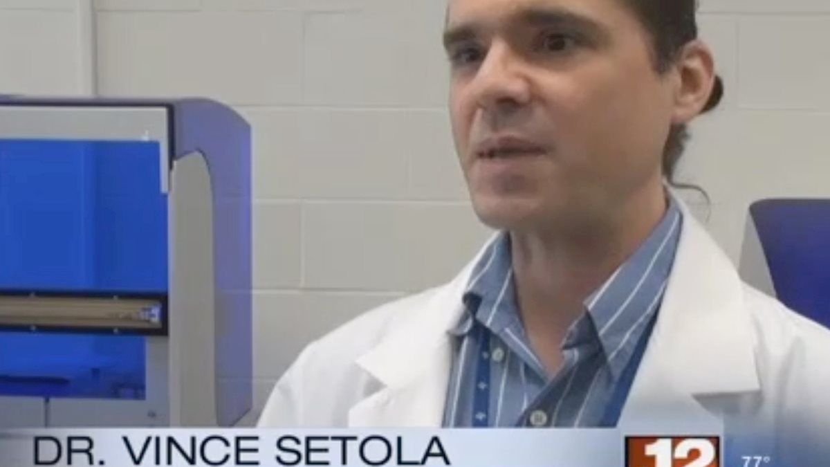 WVUs Dr. Vincent Setola talks opioid addiction genetics on WBOY newscast