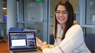 Public Health student to apply data science skills in competitive summer program