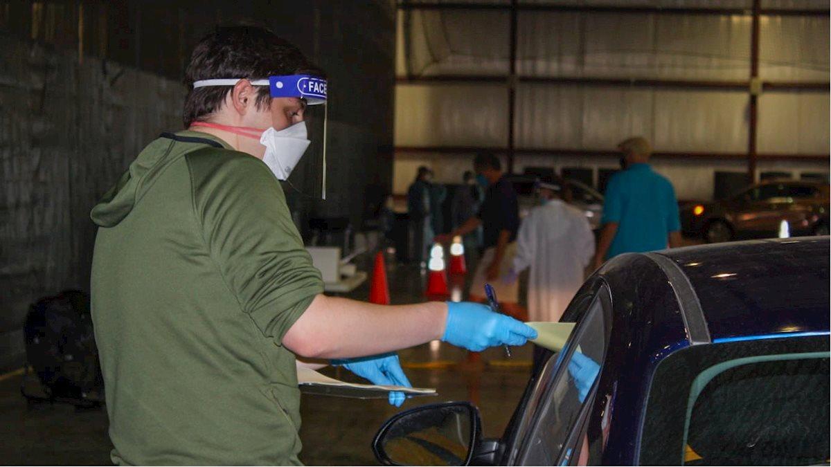 Public Health students assist with Monongalia County COVID-19 testing