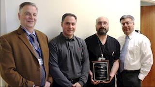 Quality Service Award recipient announced at Berkeley Medical Center
