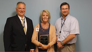 Quality service award recipient announced at Berkeley Medical Center