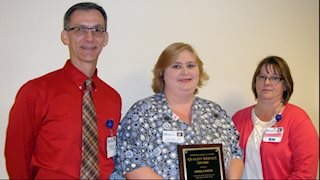 Quality Service Award recipient announced at Jefferson Medical Center