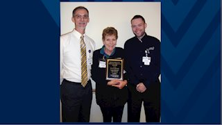 Quality service award recipient named at Jefferson Medical Center