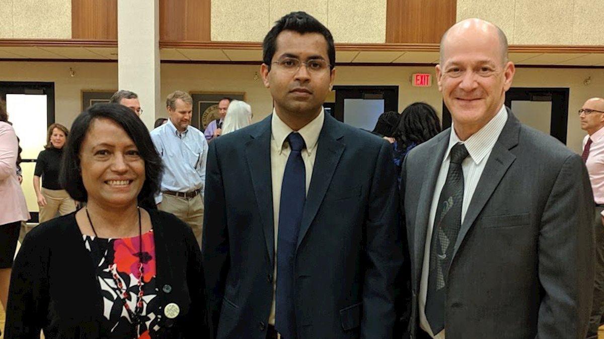 Raihan Khan selected for Outstanding Merit Fellowship
