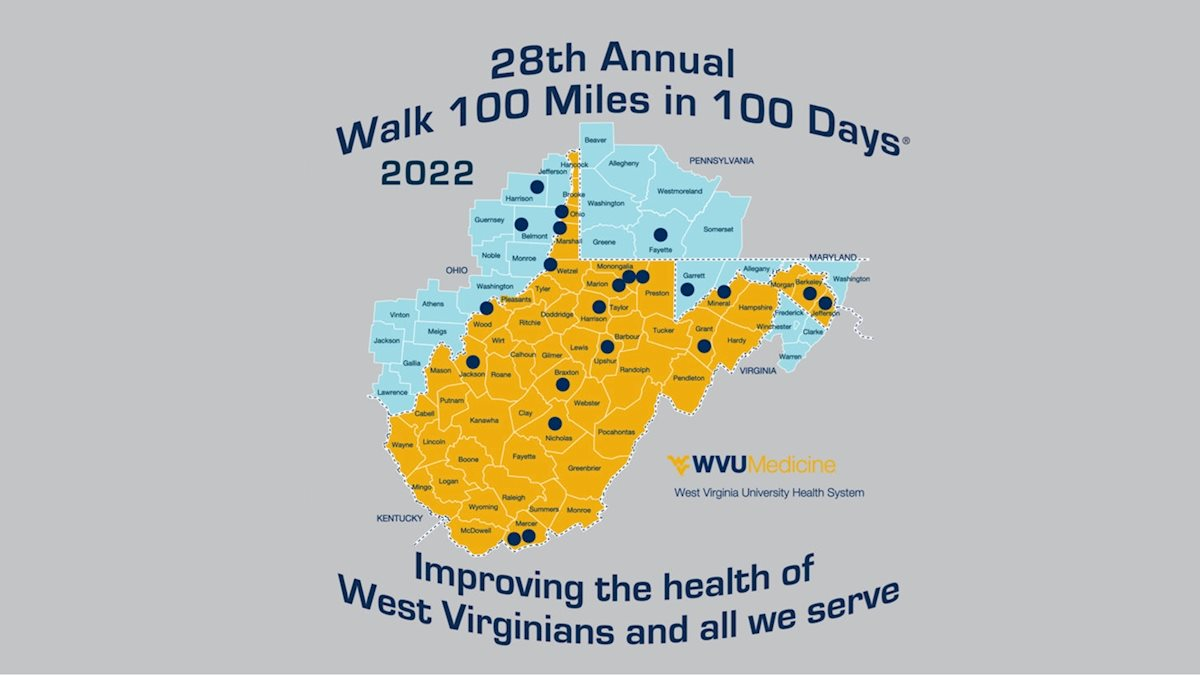 Register now for the 26th Annual Walk 100 Miles in 100 Days®