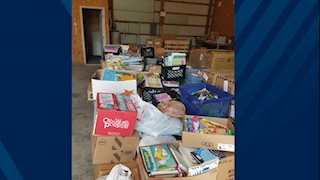 Relief efforts collect thousands of books for flood victims