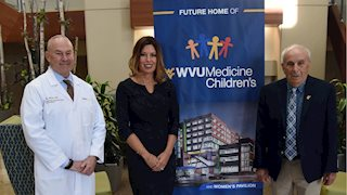 Ross family donates $1M to WVU Medicine Children's, School of Medicine Outreach Fund