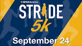 Runners, walkers will hit their Stride in annual WVU Medicine 5K on Sept. 24