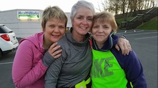 'Running is a team sport:' Wendy's Story