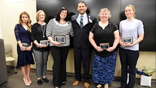 Sadlek named Nurse of the Year at WVU Medicine-WVU Hospitals
