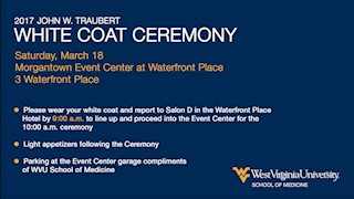 Please RSVP: M.D. Program White Coat Ceremony