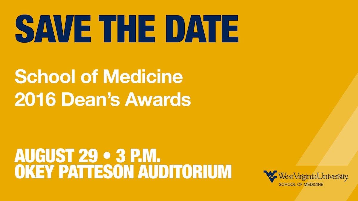 School of Medicine Dean's Excellence Award recipients announced