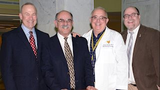 School of Medicine honors leading stroke researcher