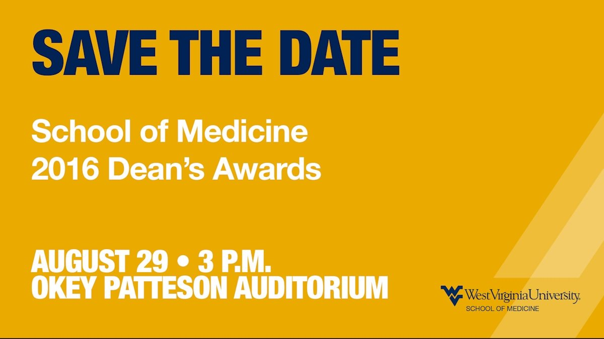 Nominations open for the annual School of Medicine Dean's Awards for Excellence