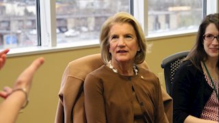 Senator Capito Visits WVU Disordered Eating Center of Charleston