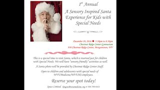 Chestnut Ridge Center to hold holiday event for kids with special needs