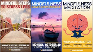 Sign Up for Mindfulness Programs Happening this Fall
