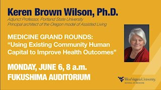 Special Medicine Grand Rounds to discuss communities and improving health outcomes