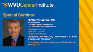 Special Seminar with Richard Pazdur, MD