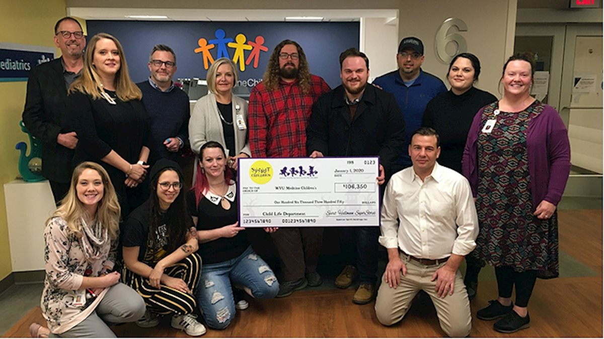Spirit Halloween donates more than $106K to the WVU Medicine Children's Child Life Program