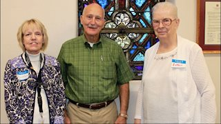 St. Joseph's Hospital Auxiliary honors 2016 Volunteer of the Year Frank Eskew