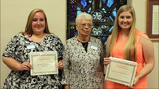 St. Joseph's Hospital Auxiliary presents scholarships to Buckhannon High School seniors