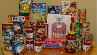 WVU Cancer Institute staff spreads holiday cheer through food drive