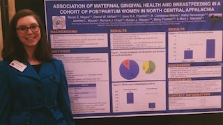Student studies links between breastfeeding and oral health