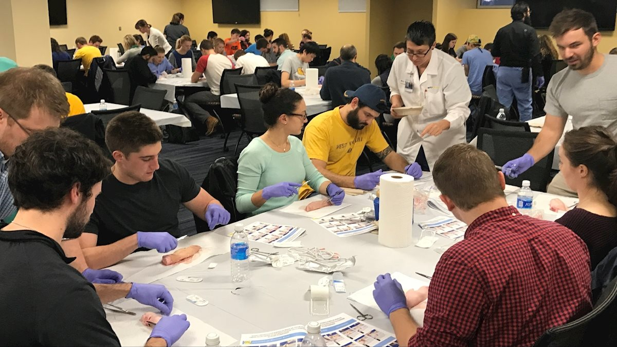 Suture workshop - Surgical Interested Group