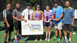 Tennis Classic winners announced