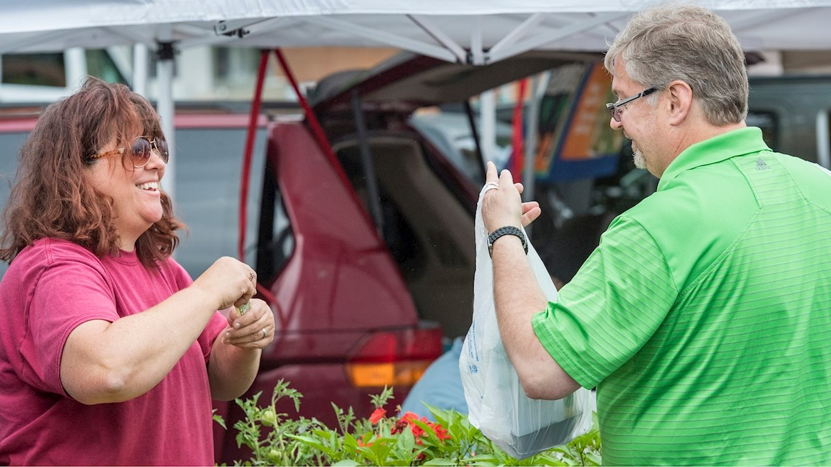 The Health Sciences Campus Farmer's Market returns Wednesday, May 22