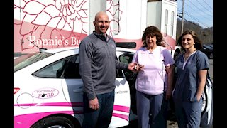 Toothman Ford provides chase car for Bonnie's Bus